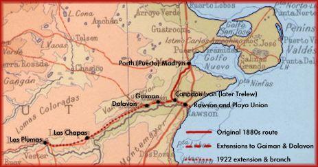 BFCCCconstruction - Argentina map puerto madryn